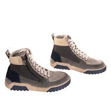 RRP €270 DIESEL S-RUA MID Leather Sneakers EU43 UK9 US10 Worn Look Colour Block