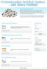 Professionnel secondaire Système-incl. Share fonction-PHP-Script