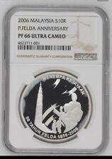MALAYSIA 2006 FELDA ANNIVERSARY PROOF COIN (COA:049)