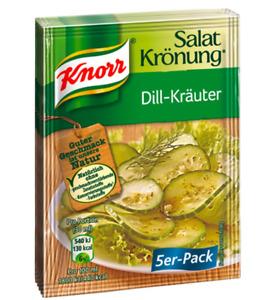 Knorr Salatkrönung Dill Herbs 5 x 11 G Bag