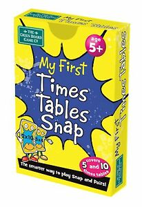 My First Times Table Snap + Pairs Card Game   BrainBox   KS1 Maths Learning