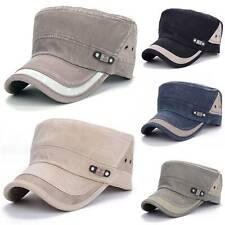 Military Hat Cap Men Boy Army Baseball Caps Cadet Combat Hat Adjustable Straps