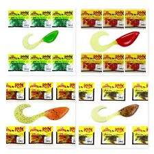 """(24) Unopened Packs Mr. Crappie By Strike King 2"""" Shadpole Curly Tail Lot New"""