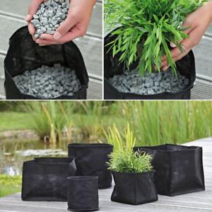 Pond planting baskets Textile Pots Various sizes for Marginal Plants Fish Koi
