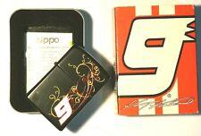 Limited edition Zippo Lighter Kasey Kahne #9 Black Matte  Racing Windproof
