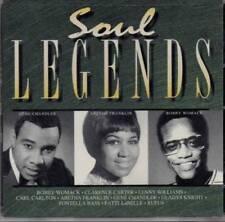 SOUL LEGENDS Various Artists NEW CLASSIC SOUL R&B CD (MCA)  U.S  IMPORT