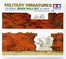 Tamiya 35028 Military Miniatures Brick Wall Set 1/35 scale kit