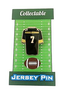 Pittsburgh Steelers Ben Roethlisberger jersey lapel pin-Classic Collectible