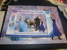 **LOOK** Superb MINT Cond RAVENSBURGER 100 Pc Disney FROZEN Jigsaw Puzzle 6+