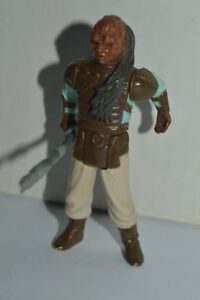 1983 Star Wars ROTJ WEQUAY Action Figure Original Complete 3 3/4 Inch Kenner