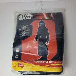 Rubies Star Wars Kylo Ren Dress Up Costume Age 7-8 Years Large Brand New