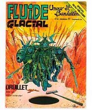 FLUIDE GLACIAL N° 20 (année 1977) DRUILLET BOUCQ GOOSSENS FRANQUIN BINET GOTLIB
