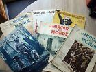 Genre L' ILLUSTRATION : LE MIROIR DU MONDE Lot 6 revues 1933-1936 Danse Astrid