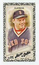 2018 ALLEN & GINTER MINI #233 ROGER CLEMENS BLACK BORDER SP RED SOX