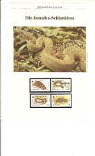 WWF, WNF Kapitel - Jamaika Boa, JAMAIKA 1984
