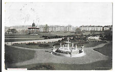 Devonport Park, PPC 1910 PMK to Miss E Vincent, Rhind St, Bodmin, Genealogy
