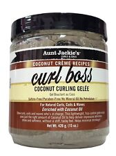 Aunt Jackie's Coconut Creme Recipes Curl Boss Coconut Curling Gelee 426g