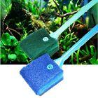 Head Aquarium Algae Cleaner Fish Tank Cleaning Brush Glass Cleaning Tool New