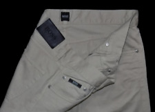 Hugo Boss Arkansas New Condition Light Sand Straight Fit Designer Jeans 34W 34L
