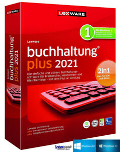 Lexware Buchhaltung Plus 2021 Vollversion + Handbuch (PDF), Updates Download NEU