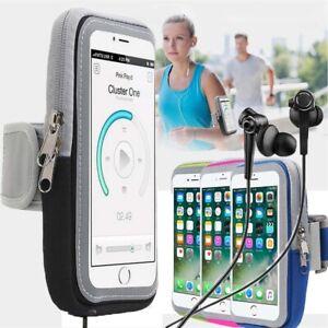 Sport Armband Running Jogging Gym Holder Arm Band Key Bag Case For Samsung Phone
