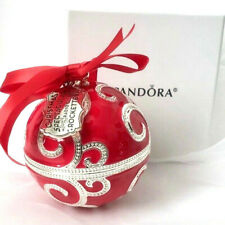 Collectible Pandora Rockettes Ornament 2017 Limited Edition New Original Box Red