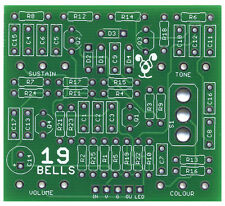 19 Bells Muff - Pro Fabricated PCB for DIY Stompbox Build