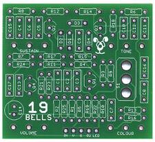 19 cloches deux articles-Pro fabriqué pcb pour DIY stompbox construire