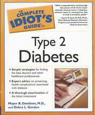 The Complete Idiot's Guide to Type 2 Diabetes by Davidson & Gordon - LIKE NEW!