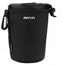 Soft Neoprene Matin DSLR Lens Bag Case (S) Size w/ hook f/ Nikon Canon Panasonic