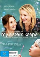 MY SISTER'S KEEPER  DVD R4 Cameron Diaz