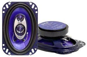 "Pyle PL463BL 3-Way 4"" x 6"" Car Speaker"