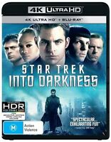 Star Trek - Into Darkness 4K Ultra HD : NEW UHD Blu-Ray