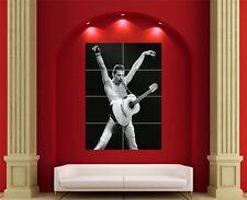 Freddie Mercury Queen cantante de música impresión de fotos de arte cartel showman gigante EN363