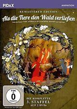 THE ANIMALS OF FARTHING WOOD : SEASON 3 remastered  -  DVD -Region 2