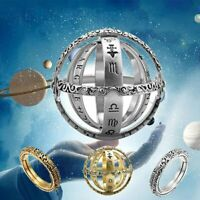 2019 Astronomical Sphere Ball Ring Cosmic Finger Ring Couple Lover Jewelry Gifts