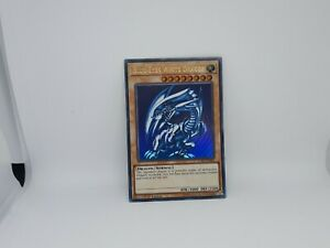 Blue-Eyes White Dragon - YuGiOh - LCKC-EN001 - 1st Edition - Gold Edition