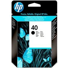 ORIGINAL & BOXED HP40 / 51640A BLACK INK CARTRIDGE - SWIFTLY POSTED