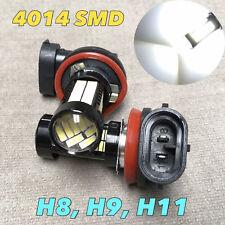 Fog Lights H11 6000K Xenon White 108 SMD 4014 LED Bulb Car Truck Lamp W1 A