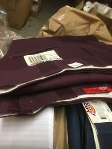 dickies  874 waist 27-34 men's slight irregulars with &without tag not usa made
