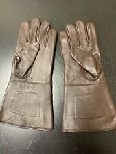 NEW Brown Leather Gauntlet Gloves - Size XL - Excellent, Civil War, Steampunk