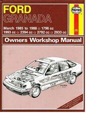 FORD GRANADA & SCORPIO MK3 2.0 2.4 2.8 2.9 PETROL 1985-88 OWNERS WORKSHOP MANUAL