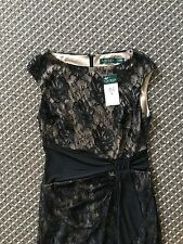 Lauren Ralph Lauren Women Lace  Dress US8= AU10-12 RRP$200