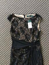 Lauren Ralph Lauren Women Lace  Dress US8= AU10-12 RRP$200