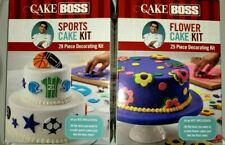 New listing Cake Boss Sports Cake & Flower Cake Kit Plunge & Stainless Steel Cutters & More