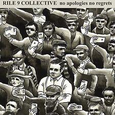 "RILE 9 COLLECTIVE No Apologies No Regrets 7"" BLUE vinyl Punk Oi! NEW Contra"