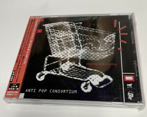 ANTI POP CONSORTIUM Shopping Carts Crashing Jap OBI Mint
