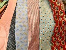 Bulk Lot 50 Pcs Neckties Quilting Crafting Vintage Modern Neck Tie Lots