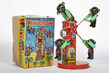 Lot 2321 Karussell Merry-Go-Round Black American Dolls, Uhrwerk, um 1950-60, OVP
