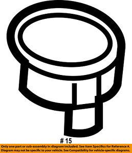 CHRYSLER OEM Instrument Panel Dash-Base Ring 4793555AB